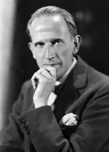 A.A. Milne by Howard Coster